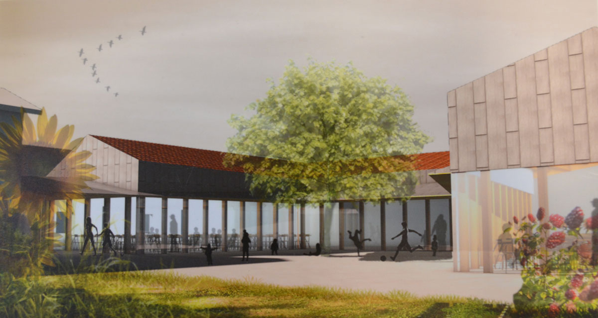 Projet restaurant scolaire à Saint-Symphorien-d'Ozon