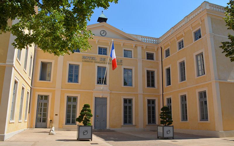Hôtel de Ville, Saint-Symphorien-d'Ozon